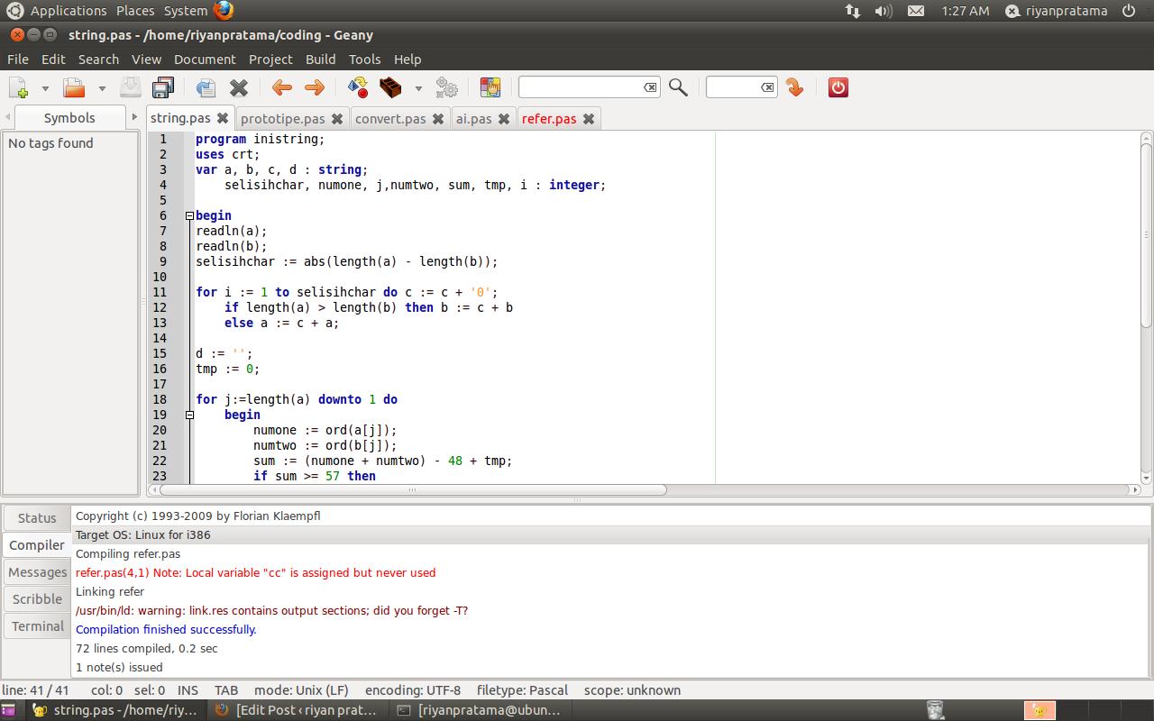 C++ compiler (turbo c3)